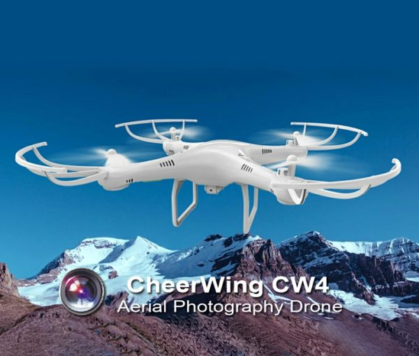 Cheerwing CW4 RC 720P HD Camera Drone