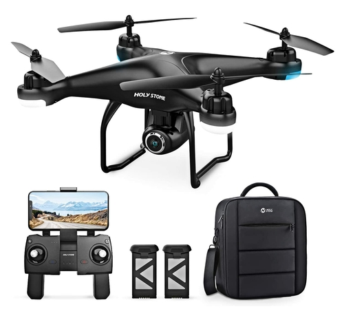 Holy Stone HS120D GPS Camera Drone Deluxe