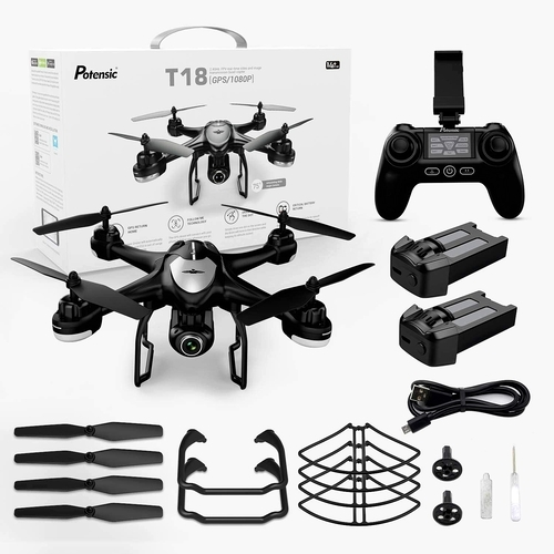 Potensic T18 RC Camera Drone Package