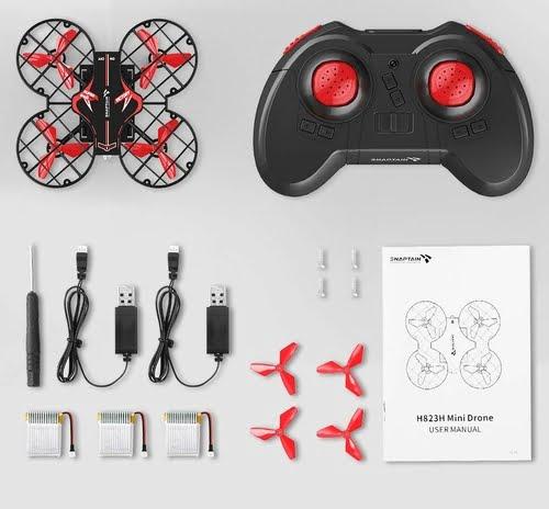 SNAPTAIN H823H Plus Portable Mini Drone Package
