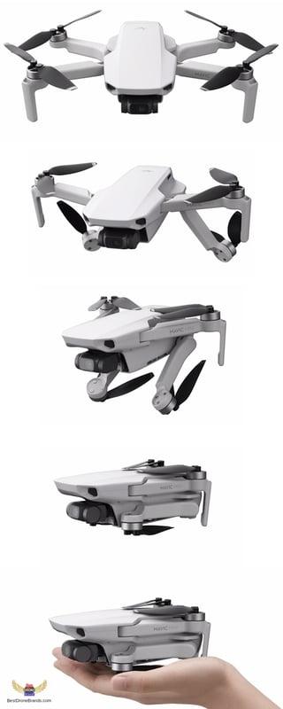 Mavic Mini Folding Sequence
