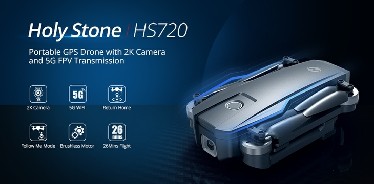 Holy Stone HS720 Camera Drone Features